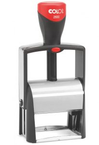 Экслибрис на автоматической металлической оснастке 58х37мм
